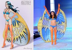 Victoria's Secret Fashion Show - Adriana Lima 2011 - Super Angels segment (by Jane Kennedy) Jane Kennedy, Victoria Secret Fashion Show, Adriana Lima, Angels, Victoria's Secret, Angel, Angelfish