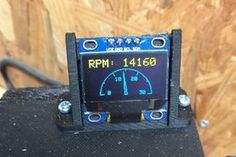 Picture of Add an Arduino-based Optical Tachometer to a CNC Router