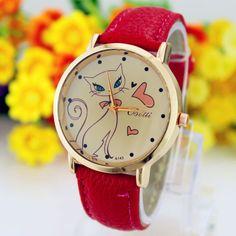 $0.81 (Buy here: https://alitems.com/g/1e8d114494ebda23ff8b16525dc3e8/?i=5&ulp=https%3A%2F%2Fwww.aliexpress.com%2Fitem%2Frelogio-feminino-luxo-de-Fashion-Women-PU-Leather-Strap-Analog-Quartz-Wrist-Watch-Cute-Cat-watches%2F32780075875.html ) relogio feminino luxo de Fashion Women PU Leather Strap Analog Quartz Wrist Watch Cute Cat watches Clock Casual Dress watch for just $0.81
