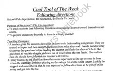 Cool Tool lessons to use with students in the classroom from Behavior Babe on TeachersNotebook.com (50 pages)