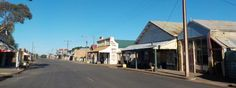 All Aussie Opals Main Street, Street View, South Australia, Personal Photo, Maine