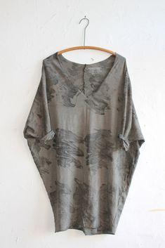Alexander Yamaguchi  Raw Wide Dress