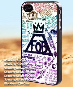 Fall out boys lyrics color  iPhone 4/4s/5 Case  by mojoagung, $12.55