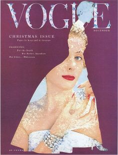 Vogue December by Blumenfeld