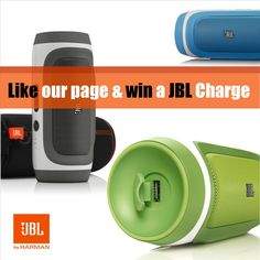 Like our Facebook Page and enter our sweepstake competition to win a new JBL Charge. For details go to www.facebook.com/JBLAustralia