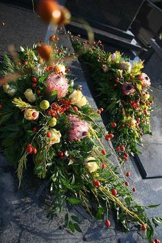 Fall Flowers, Pretty Flowers, Fresh Flowers, Grave Flowers, Funeral Flowers, Grave Decorations, Flower Decorations, Funeral Flower Arrangements, Floral Arrangements