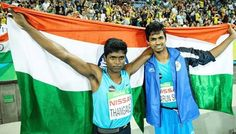 Rio Paralympics: M. Thangavelu Clinches Gold Varun Bhati Bronze In High Jump RIO DE JANEIRO : Mariyappan Thangavelu made history as he clinched the gold medal in men's high jump T-42 at Rio Paralympics on Friday. Another Indian Varun Singh Bhati won the bronze. Thangavelu clinched gold with a jump of 1.89 metre while Bhati won the bronze with an attempt of 1.86m which is also his personal best mark. The silver went to American Sam Grewe. India thus opened their account in Rio with two medals…