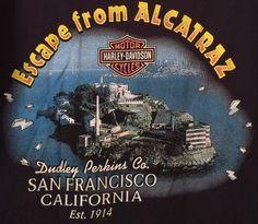 Harley-Davidson Dudley Perkins San Francisco, CA 1998 Pocket T-shirt XL Authenti #HarleyDavidson #GraphicTee