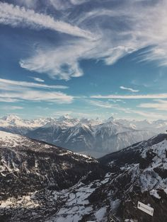 Gemmi #Leukerbad View to The Alps and the Rhône Valley  by @gioja 24 Mars 2016