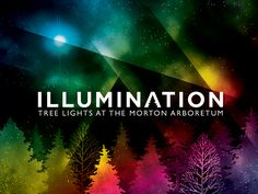 Tickets are on sale now for Illumination at The Morton Arboretum! mortonarb.org/illumination Walking along the trail you can: Hug a tree to make it grow brighter,  Sing to a tree and watch it change color, Interact with light and color with a swipe of your hand