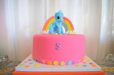 Maddycakes Muse: My Little Pony Birthday Party