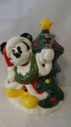 Mickey Mouse Cookie Jar made in Mexico by Treasure Craft