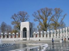 World War 2 Memorial - Washington DC