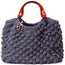 Resultado de imagem para bolsa crochê