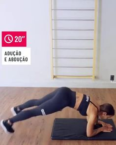 Leg Workout At Home, Gym Workout For Beginners, Fitness Workout For Women, Workout Videos, Yoga Fitness, Full Body Gym Workout, Easy Workouts, At Home Workouts, Love Handle Workout
