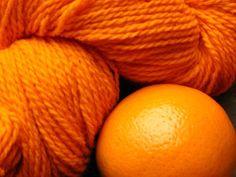 orange & an orange