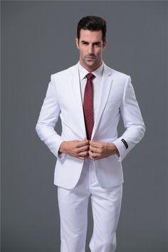 Custom Men Suits #whitesuit #menssuits
