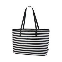Mini Stripe Ink Madison Diaper Bag