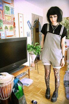 Cheap Monday Trousers, Gordonjack Platform Shoes, H&M Tighsts - I'M A REBEL, AND I'M PROUD OF IT - Jerina Laaksonen