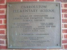 carrollton elementary   Carrollton Elementary School #4 (1952)--Carrollton, Ohio   Flickr ...