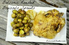 Here's a simple recipe that I think you and your family will enjoy too....Roasted Brussels Sprouts