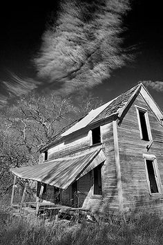 Delapidated House Near Sherman, Texas