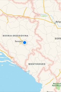 7 best My maps    images on Pinterest   My maps  Island and Islands In Sarajevo         My Maps