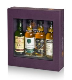 Single Pot Still Miniature Pack, Redbreast, Powers, Jameson...