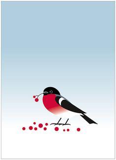 Bullfinch by Suzy Yes