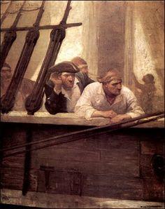 "Illustration from ""Kidnapped,"" by Robert Louis Stevenson"