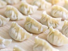 POT STICKERS - Filling, folding, frying, and steaming your own Pork Gyoza at home is not only fun, but it costs just pennies on the dollar compared to restaurants. Gyoza Filling Recipe, Gyoza Recipe Pork, Pork Recipes, Asian Recipes, Wrap Recipes, Family Recipes, Family Meals, Leftovers Recipes, Kitchen