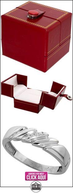 Revoni - Juego de alianzas de oro blanco  ✿ Joyas para hombres especiales - lujo ✿ ▬► Ver oferta: https://comprar.io/goto/B003PDUJZU