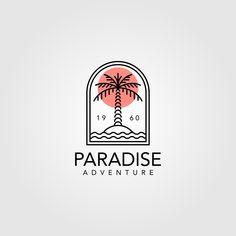 Great Logo Design, Shirt Logo Design, Vintage Logo Design, Custom Logo Design, Vintage Logos, Modern Logo Design, Creative Logo, Creative Business, Surf Logo