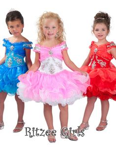 2015 New Cheap Flower Girls Pageant Dresses For Wedding Communion Dress Vestidos De Comunion Tulle Flower Girl Dresses Girls Pageant Dresses, Pageant Gowns, Homecoming Dresses, Wedding Party Dresses, Bridal Dresses, Ruffled Dresses, Formal Dress Stores, Cute Flower Girl Dresses, Flower Girls