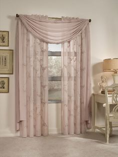 You'll find jabot, window swags, window treatments for large windows Curtains don't require frequent cleaning, apart from spills or stains, which should be treated as needed. Taking curtains down and washing them once every 3-4 months will insure their cleanliness without fading the colors. Lighter curtains can be washed in a residential washer and dryer, but larger, heavier curtains should be washed in industrial washers and dryers, or dry cleaned.