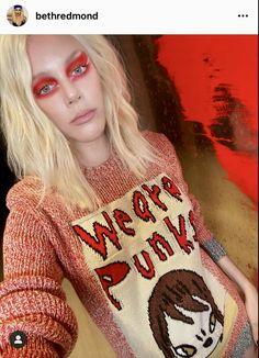 Nara, Christmas Sweaters, Punk, Fashion, Moda, Fashion Styles, Christmas Jumper Dress, Punk Rock, Fashion Illustrations
