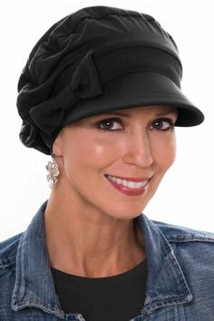 Morehats Cable Knit Head Scarf Chemo Head Cap Women Cancer Patients Casual Hat