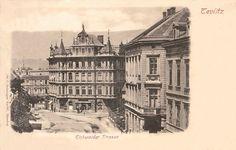 Czech Republic - In old Teplice (Teplitz) Old Photographs, Old Postcards, Rotterdam, Czech Republic, Big Ben, Louvre, Europe, City, Building