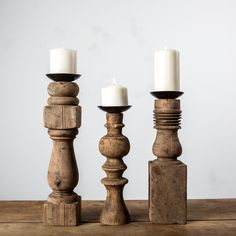Furniture Leg Candle Holder - Magnolia Market | Chip & Joanna Gaines