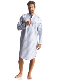 Vintage Clothing for Gents ·  110 mens egyptian cotton nightshirt Nat 87e8da0c3