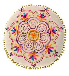 Embroider a mandala -- what a beautiful idea.