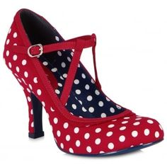 0602407854b8 Flattering Jessica features clean lines and crisp polka dot uppers for a  classic style with a rockabilly twist that will make you want to dance!