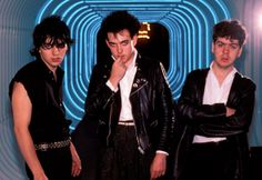 The Cure, 1981 By Ebet Roberts