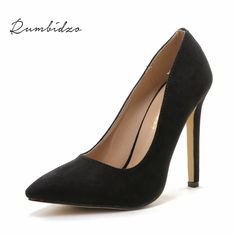 Promo Plus size 43 Women Pumps 2015 High heels Pointed Toe Party Shoes Woman High Heel Women. Click visit to read descriptions