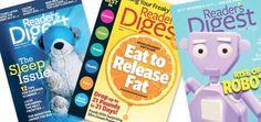 Reader's Digest subscription at 71% off