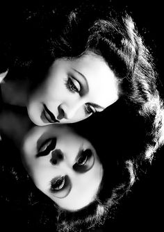 Hedy Lamarr reflected...