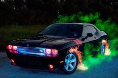 ~♥ Dodge Challenger ♥~ I want to do this to my car!