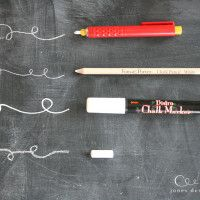 Chalkboard Ideas and Tips - sincerely, sara d.