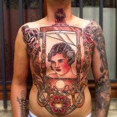 "hey it's me ! tattoome: "" Mikael de Poissy """