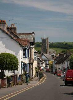 Moretonhampstead in Devon, England